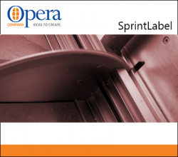 Opera Sprint Label